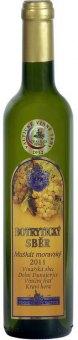 Víno Muškát moravský Botrytický sběr Vinařství Valtice - výběr z bobulí