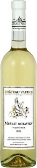 Víno Muškát moravský Chateau Valtice - pozdní sběr