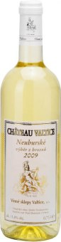Víno Neuburské Chateau Valtice - výběr z hroznů