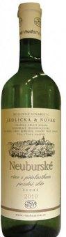 Víno Neuburské Vinařství Jedlička&Novák - pozdní sběr