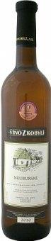 Víno Neuburské Víno z Kobylí - pozdní sběr