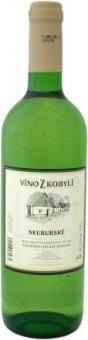 Víno Neuburské Víno z Kobylí