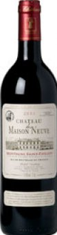 Víno červené Neuve Montagne Saint-Émilion 2010 Chateau de Maison