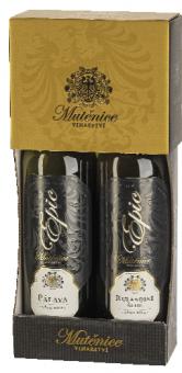 Víno Pálava a Rulandské šedé Epic Vinařství Mutěnice