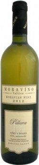 Víno Pálava Moravíno Valtice - výběr z hroznů