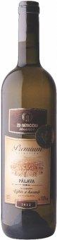Víno Pálava Premium Vinařství ZD Němčičky - pozdní sběr