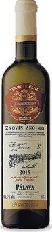 Víno Pálava Znovín Znojmo - výběr z hroznů