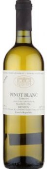 Víno Pinot Blanc Leskoun Vinařství Reisten