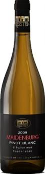 Víno Pinot Blanc Maidenburg Vinařství Reisten - pozdní sběr