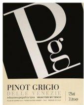 Víno Pinot Grigio Tesco