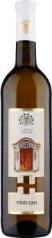Víno Pinot Gris Žudro kříž Vinařství Mutěnice
