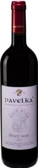 Víno Pinot Noir Vinařství Pavelka a syn - výběr z hroznů