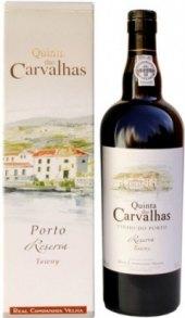 Víno Porto Tawny Quinta das Carvalhaas Real Companhia Velha
