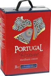 Víno Portugal Rosé Cultura Vini - bag in box