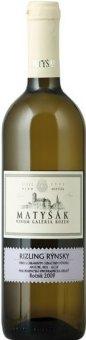 Víno Ryzlink rýnský Vinařství Matyšák
