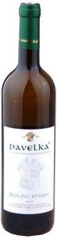 Víno Rizling Rýnsky Vinařství Pavelka a syn