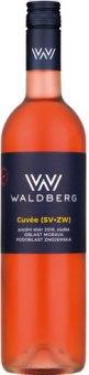 Víno Rosé Cuvée Vinařství Waldberg - pozdní sběr