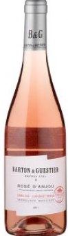 Víno Rosé d'Anjou B&G