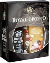 Víno červené Tawny Royal Oporto Real Companhia Velha - dárkové balení