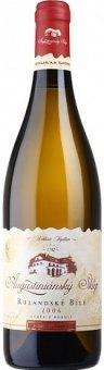 Víno Rulandské bílé Augustiniánský sklep - výběr z bobulí