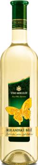 Víno Rulandské bílé Motýl Víno Mikulov
