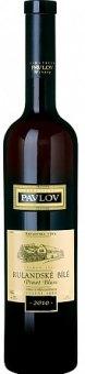 Víno Rulandské bílé Vinařství Pavlov - pozdní sběr