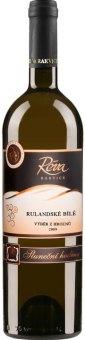 Víno Rulandské bílé Réva Rakvice - výběr z hroznů