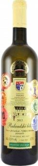 Víno Rulandské bílé Vinařství Dufek - výběr z hroznů