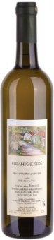 Víno Rulandské bílé Vinařství František Mádl - pozdní sběr