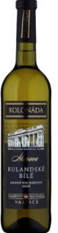 Víno Rulandské bílé Vinařství Kolonáda Valtice