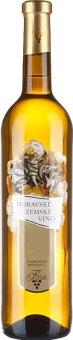 Víno Rulandské bílé Vinařství Krist Milotice - zemské