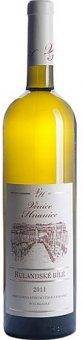 Víno Rulandské bílé Vinice Hranice - výběr z hroznů