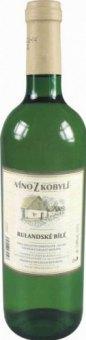 Víno Rulandské bílé Víno z Kobylí - výběr z hroznů