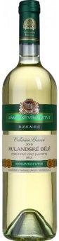 Víno Rulandské bílé Zámecké vinařství Bzenec