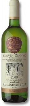 Víno Rulandské bílé Znovín Znojmo - pozdní sběr