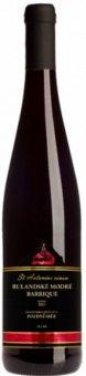 Víno Rulandské modré Barrique St.Antonius Vinařství Blatel - pozdní sběr