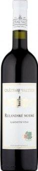 Víno Rulandské modré Chateau Valtice - kabinetní