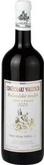 Víno Rulandské modré Chateau Valtice - výběr z hroznů