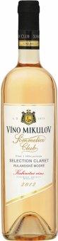 Víno Rulandské modré Selection Claret Sommelier Club Víno Mikulov - kabinetní