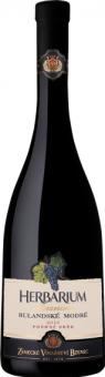 Víno Rulandské modré Herbarium Moravicum Zámecké vinařství Bzenec - pozdní sběr