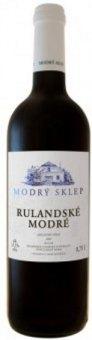 Víno Rulandské modré Modrý sklep Šaldorf