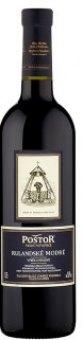 Víno Rulandské modré Poštor Velké Pavlovice - výběr z hroznů