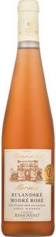Víno Rulandské modré rosé Vinařství Anno vino Lednice - pozdní sběr