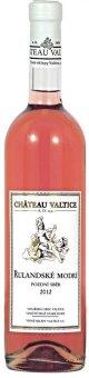 Víno Rulandské modré Rosé Chateau Valtice - pozdní sběr