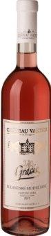 Víno Rulandské modré Rosé Gracie Chateau Valtice - pozdní sběr