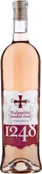 Víno Rulandské modré Rosé Templářské sklepy Čejkovice