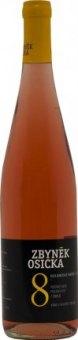 Víno Rulandské modré rosé Vinařství Zbyněk Osička - pozdní sběr