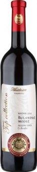 Víno Rulandské modré Top Collection Vinařství Mutěnice - pozdní sběr