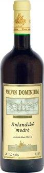 Víno Rulandské modré Valvin Dominium Collection Chateau Valtice - pozdní sběr