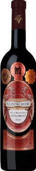 Víno Rulandské modré Vinařství Krist Milotice - výběr z hroznů